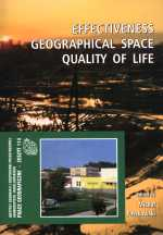 Effectiveness geographical space quality of life
