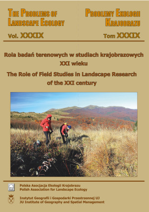 Rola badań terenowych w studiach krajobrazowych XXI wieku. (The Role of Field Studies in Landscape Research of the XXI century)